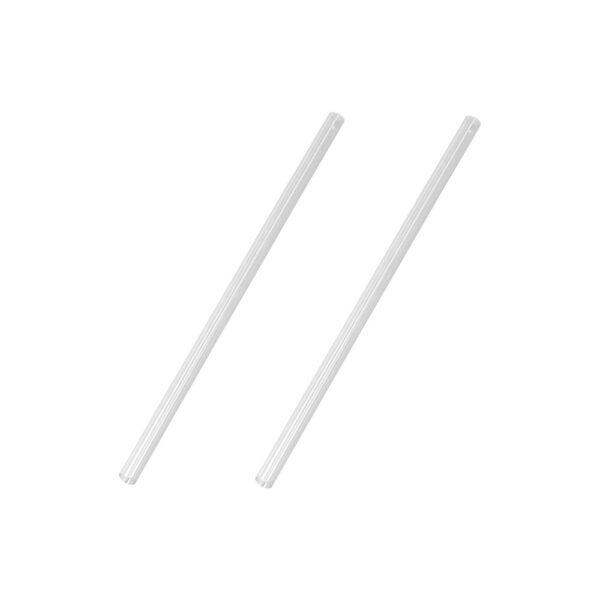 Sugrör Rakt PVC Klar 6x155mm