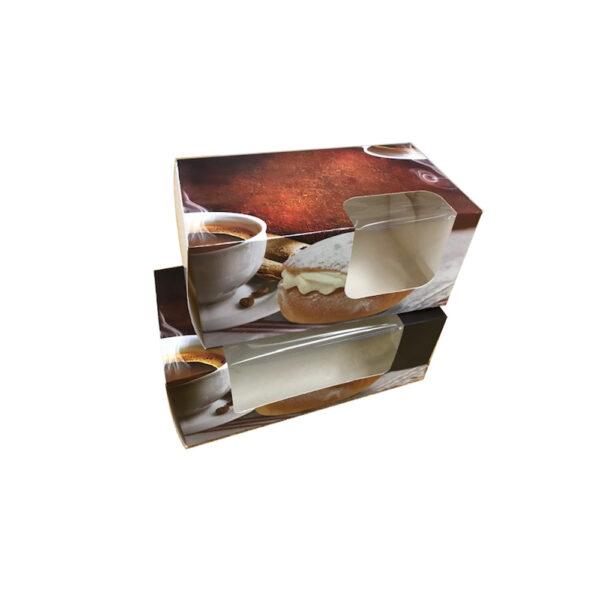 Semlekartong 2-Pack Fönster Liten